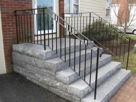 ... Handrail With Basket Balusters · Mission Style Wrought Iron Railings ...