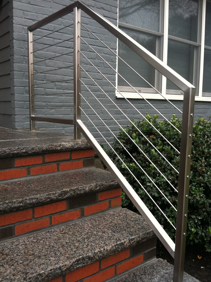 ... Stainless Steel Cable Stair Rails ...