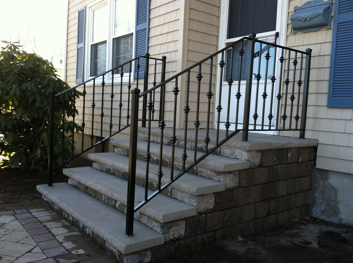 Wrought Iron Handrails For Exterior Stairs Home Design