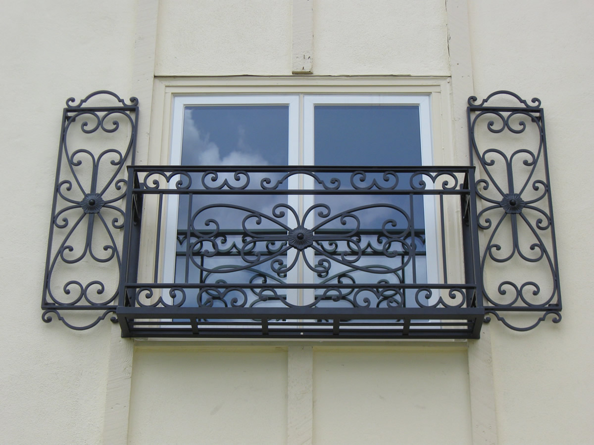 Faux Wrought Iron Exterior Shutters window shutters New Orleans